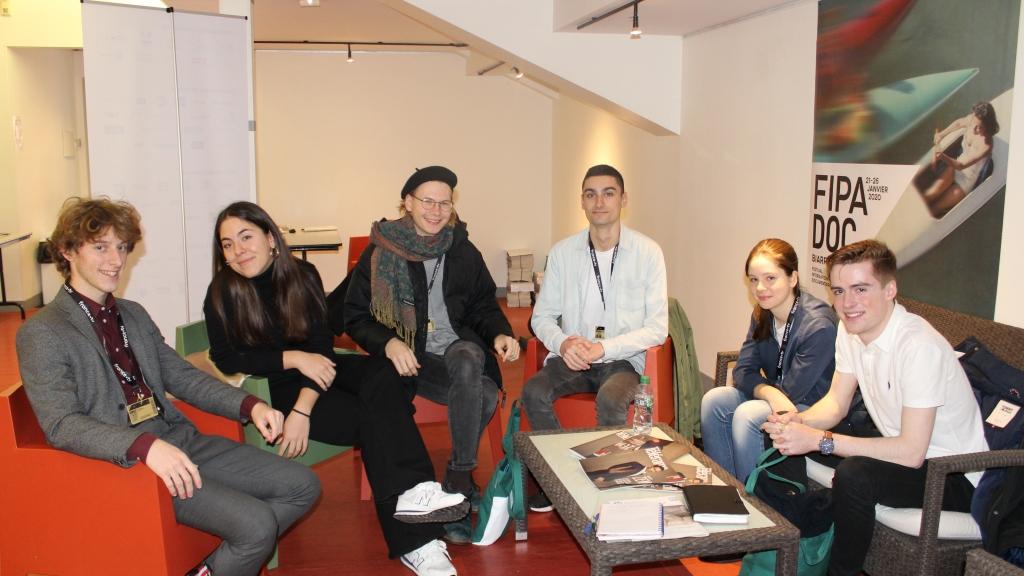 Le jury du Prix des Jeunes Européens presque au complet - © Lisa Rodrigues / Le Blog du FIPADOC